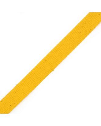 Тесьма киперная ш.1,3см хлопок 1,8г/см цв.ярк. желтый арт. МГ-5991-1-МГ0370541