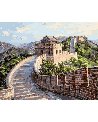 К по номерам Белоснежка Великая Китайская стена 40х50 см арт. МГ-40281-1-МГ0371077