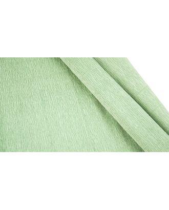Бумага гофрированная Италия 50см х 2,5м 140г/м² цв.965 св.зеленый арт. МГ-40589-1-МГ0372698