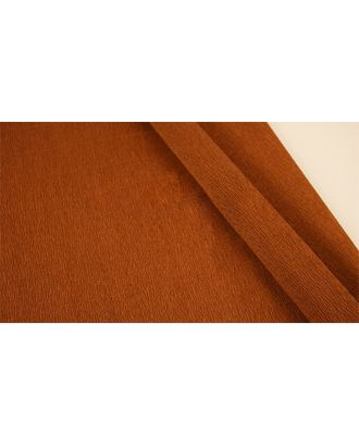 Бумага гофрированная Италия 50см х 2,5м 140г/м² цв.968 коричневый арт. МГ-40591-1-МГ0372700
