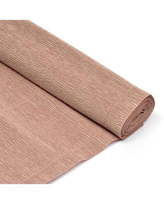 Бумага гофрированная Италия 50см х 2,5м 180г/м² цв.017/Е1 серо-розовая арт. МГ-40607-1-МГ0372716