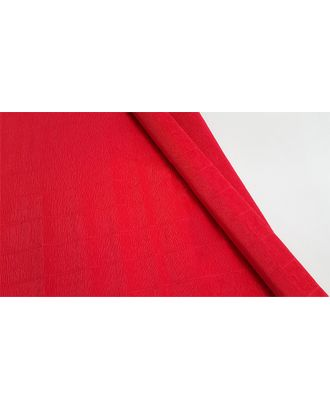 Бумага гофрированная Италия 50см х 2,5м 180г/м² цв.589 алый арт. МГ-40613-1-МГ0372722