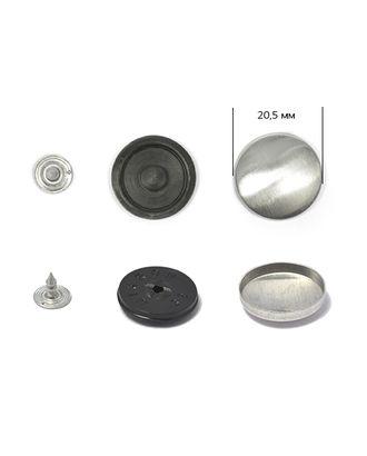 Заготовки для обтяж.пуг. №32 (20,5мм) ножка - пластик цв.черный на гвоздике арт. МГ-6235-1-МГ0373470