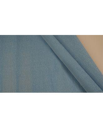 Бумага гофрированная Италия 50см х 2,5м 140г/м² цв.956 голубой арт. МГ-40776-1-МГ0375612