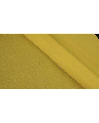 Бумага гофрированная Италия 50см х 2,5м 140г/м² цв.974 желтый арт. МГ-40778-1-МГ0375614