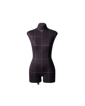 Манекен женский мягкий портновский Monica, размер 50, черный арт. МГ-72253-1-МГ0375665