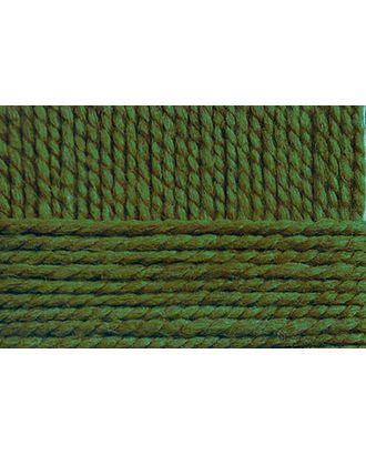 """Пряжа для вязания ПЕХ """"Смесовая"""" (70% акрил высокообъемный, 30% шерсть) 5х200г/200м цв.434 зеленый арт. МГ-40855-1-МГ0375757"""