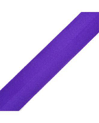 Стропа-35 (лента ременная) цв.19 фиолетовый арт. МГ-79707-1-МГ0376619