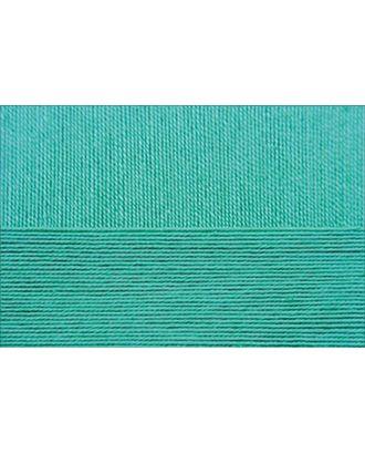 """Пряжа для вязания ПЕХ """"Цветное кружево"""" (100% мерсеризованный хлопок) 4х50г/475м цв.581 св.изумруд арт. МГ-41111-1-МГ0483677"""