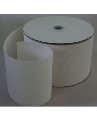 Люверсная термоклеевая лента двухсторонняя 100мм цв.белый рул. 50м арт. МГ-6443-1-МГ0489952