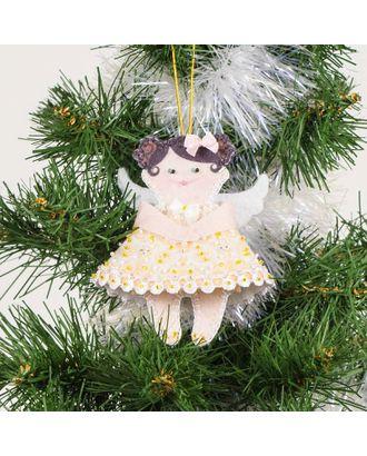 Набор для шитья и вышивания сувенир - 8442 Ангел в желтом арт. МГ-6514-1-МГ0494071