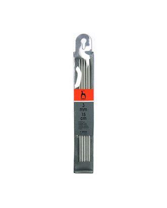 Спицы чулочные PONY 38505 15см 3.00мм, алюминий арт. МГ-42500-1-МГ0497030