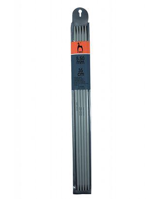 Спицы чулочные PONY 41259 35см/5.50мм, пластик арт. МГ-42515-1-МГ0497045