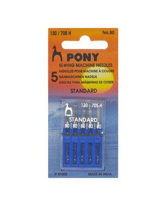 Иглы PONY 51005 №80/12 (стандарт) арт. МГ-42562-1-МГ0497095