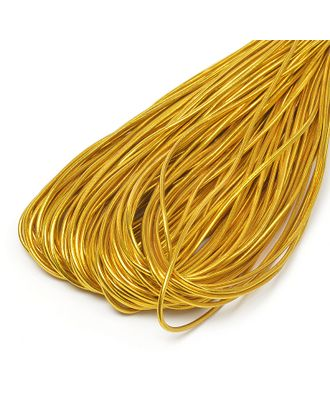 Резинка шляпная (шнур круглый) д.0,3см цв.золото арт. МГ-90599-1-МГ0507191