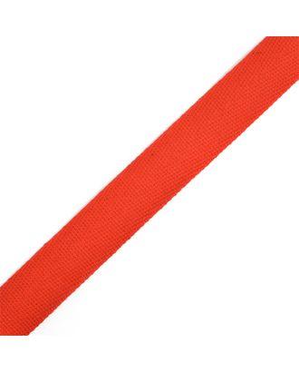 Тесьма киперная ш.2,2см хлопок 1,8г/см цв.красный арт. МГ-7043-1-МГ0533955