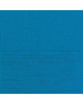 """Пряжа для вязания ПЕХ """"Ласковое детство"""" (100% меринос.шерсть) 5х50г/225м цв.015 т.голубой арт. МГ-44483-1-МГ0536324"""