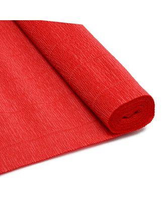 Бумага гофрированная Италия 50см х 2,5м 180г/м² цв.017/А6 красный арт. МГ-44743-1-МГ0543034