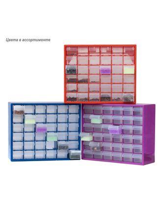 Стенд для хранения пуговиц, 36 ячеек 40,5x14x32,5 см в ассортименте арт. МГ-7226-1-МГ0550142