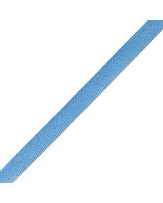 Тесьма киперная ш.1см хлопок 1,8г/см цв.голубой арт. МГ-7297-1-МГ0556117
