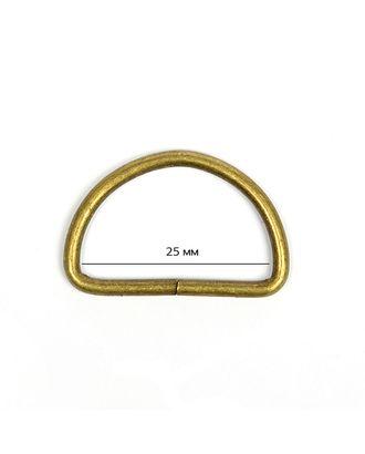 Полукольцо металл TSW ш.25х2,2мм арт. МГ-7350-1-МГ0557667