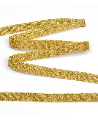 Тесьма трикотажная Лампас KTS1410 ш.1см цв.золото арт. МГ-7368-1-МГ0558335