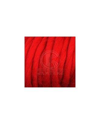 "Пряжа для вязания КАМТ ""Византия"" (100% шерсть п/т) 2х250г/50м цв.046 красный арт. МГ-45262-1-МГ0561291"