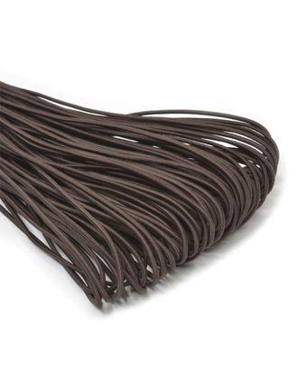 Резинка шляпная (шнур круглый) д.0,3см цв.F304 коричневый арт. МГ-95296-1-МГ0582153