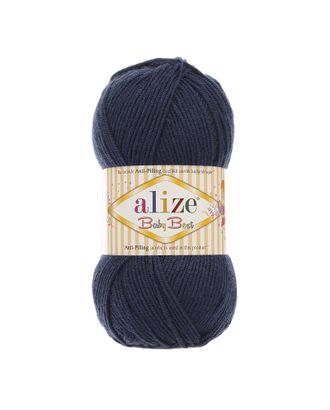 Пряжа для вязания Ализе Baby Best (90% акрил, 10% бамбук) 5х100г/240м цв.058 т.синий арт. МГ-46790-1-МГ0585006