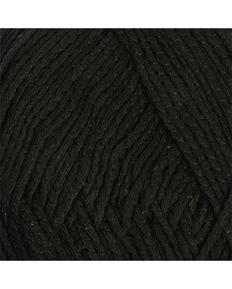 """Пряжа для вязания КАМТ """"Кокор"""" (70% хлопок, 22% дакрон, 8% нейлон) 5х100г/140м цв.003 черный арт. МГ-46821-1-МГ0585621"""