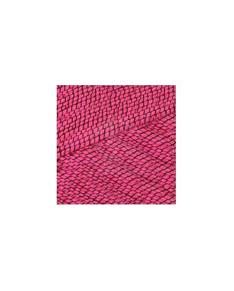 """Пряжа для вязания КАМТ """"Кокор"""" (70% хлопок, 22% дакрон, 8% нейлон) 5х100г/140м цв.190/003 фуксия/черный арт. МГ-46822-1-МГ0585622"""
