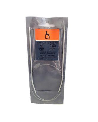 48203 PONY Спицы круговые 2,50 мм/ 60 см, алюминий арт. МГ-47814-1-МГ0595104