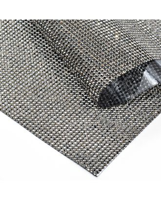 Стразы на листе клеевые 3мм, 24х40 см цв.т.никель арт. МГ-7739-1-МГ0597375