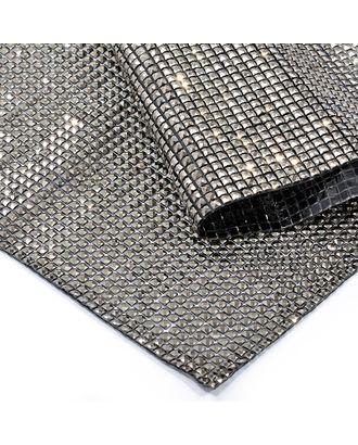 Стразы на листе клеевые 4х4мм, 24х40 см цв.т.никель арт. МГ-7740-1-МГ0597376