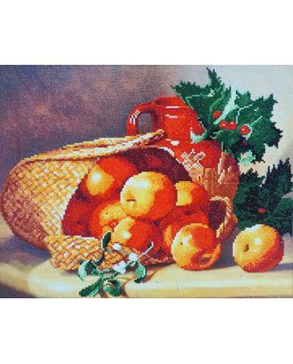 "Набор ""Колор Кит"" к алмазная Лукошко с яблоками 40х50 арт. МГ-7785-1-МГ0597912"