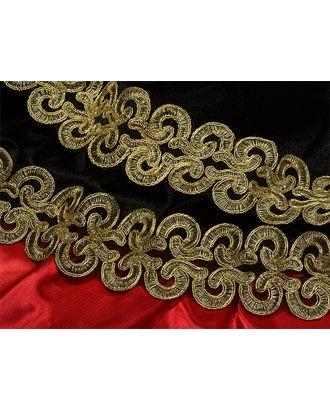 Кружево венецианское G1231 ш.6см, цв.01 золото арт. МГ-7977-1-МГ0602111