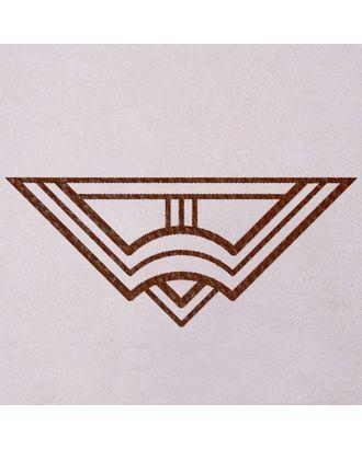 КЖН61 Накладной элемент из кожзама уп.5шт арт. МГ-51552-1-МГ0625517