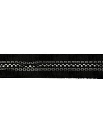 Корсаж брючный с латексной нитью 20мм Ш20Ч-50 узкая арт. МГ-8656-1-МГ0629034