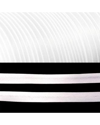 Косая бейка атласная ш.2см цв.F101 белый А арт. МГ-80327-1-МГ0631976