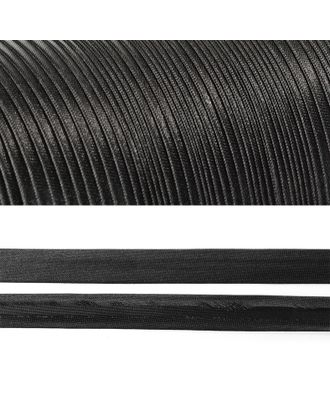 Косая бейка атласная ш.2см цв.F322 черный А арт. МГ-80328-1-МГ0631977