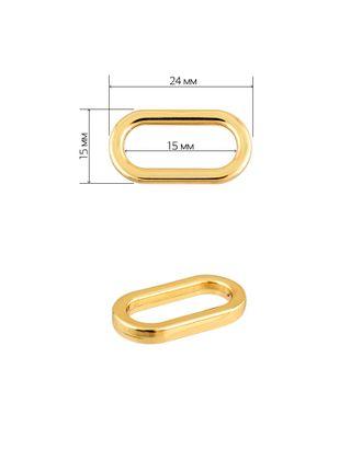 Рамка металл овальная 071501 ш.1,5см арт. МГ-9080-1-МГ0638154