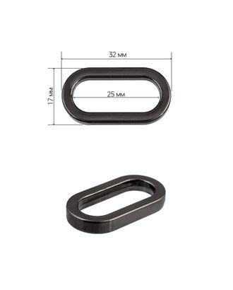 Рамка металл овальная 072503 ш.2,5 см арт. МГ-9088-1-МГ0638162