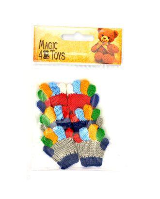 Перчатки для игрушек вязаные 5-6см цв.ассорти уп.3пары арт. МГ-9159-1-МГ0638504