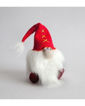 """Набор для изготовления текстильной игрушки из фетра """"Красный гном"""" 15,5 см арт. МГ-9298-1-МГ0641515"""