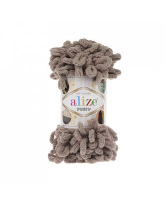 Пряжа для вязания Ализе Puffy (100% микрополиэстер) 5х100г/9.5м цв.530 бежевый арт. МГ-53425-1-МГ0641863
