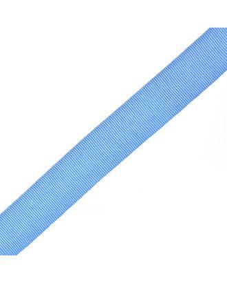 Тесьма в рубчик (шляпная) шир.20мм цв.голубой  уп.50м арт. МГ-53996-1-МГ0645787