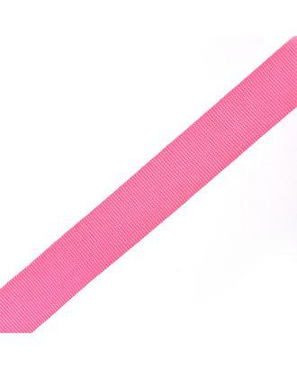Тесьма в рубчик (шляпная) шир.20мм цв.розовый  уп.50м арт. МГ-54000-1-МГ0645791