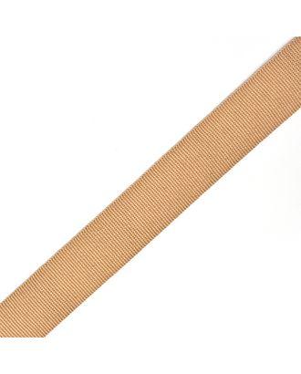 Тесьма в рубчик (шляпная) шир.20мм цв.бежевый  уп.50м арт. МГ-54004-1-МГ0645795