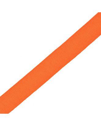 Тесьма в рубчик (шляпная) шир.20мм цв.оранжевый  уп.50м арт. МГ-54006-1-МГ0645797