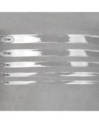 Лента силиконовая прозрачная 38001 ш.1,2см толщ.0,3мм уп.1кг арт. МГ-73546-1-МГ0648433